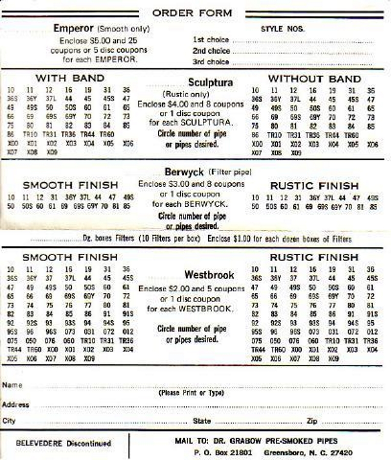 1969-coupon-pipe-order-form